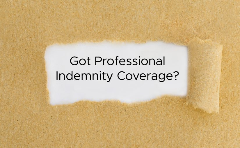 Do I need professional indemnity insurance?
